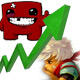 Indie darlings do well in 2011; Super Meat Boy surpasses 1 million sold while Bastion hits 500K
