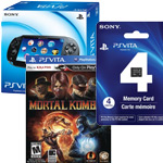 Buy the PS Vita Wi-Fi, get Mortal Kombat and a 4GB memory card through Amazon