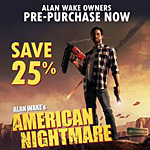 Alan Wake's American Nightmare coming to PC in May; announcement trailer inside