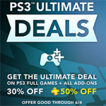 Sony announces 'Ultimate Editions' promotion for big discounts on PS3 games through PSN