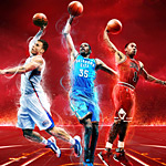 Durant, Griffin, and Rose are NBA 2K13's cover athletes; official box art revealed