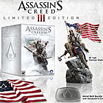 Assassin's Creed III Limited and Digital Deluxe Editions announced
