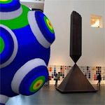 Katamari Damacy exhibited at New York's Museum of Modern Art