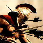 300 and The Elder Scrolls V: Skyrim Video - Battle of Thermopylae