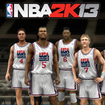 NBA 2K13 will feature both the 2012 U.S. Men's National Team and the 1992 'Dream Team'