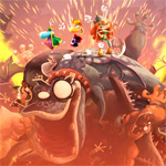 Rayman Legends walkthrough video deep-dives into 'Toad Story;' new screenshots