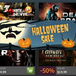 Steam's Halloween Sale gives big discounts on dozens of games; most are 50% to 75% off