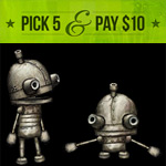 GOG.com's 'Pick 5 & Pay $10' promo delivers Machinarium, Torchlight, Botanicula, and 17 more for just $2 each
