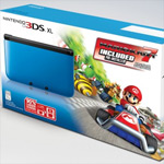 New 3DS XL bundle packs in Mario Kart 7; European 3DS XL owners get free game through the eShop