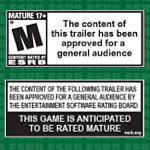 ESRB changes its marketing requirements for M-Rated games