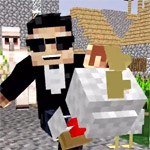 Hilarious PSY and Minecraft parody video - 'Minecraft Grieferman'