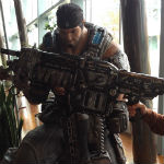 Epic Games to help hospitalized Insomniac artist by auctioning Gears of War lancer replicas