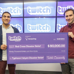 Twitch users donate $90,000 to Typhoon Haiyan relief effort