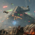 EA livestreaming first gameplay footage from Star Wars: Battlefront's Battle of Jakku DLC today