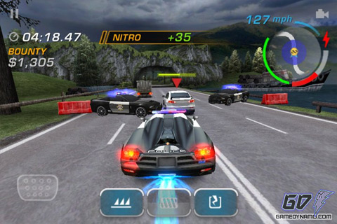 Need for Speed: Hot Pursuit (iOS - iPhone, iPod Touch, iPad)