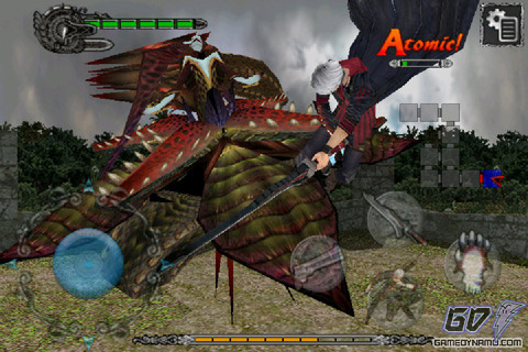 Devil May Cry 4 refrain (iOS - iPhone, iPod Touch, iPad) review