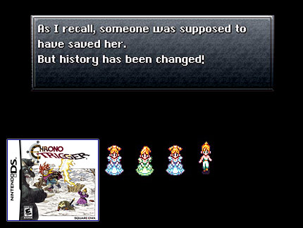 Chrono Trigger (SNES, PS1, DS)
