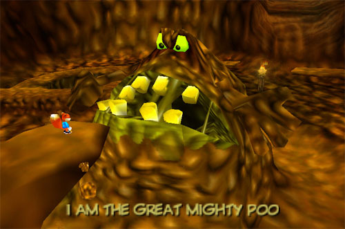 Conker's Bad Fur Day (N64 and Xbox): The Great Mighty Poo Guy