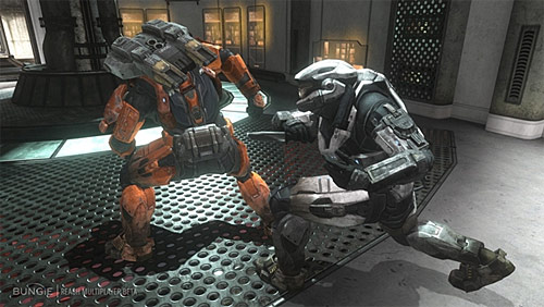 Halo 4 (Xbox 360) Wishlist Screenshots - Charge Attack / Quick Kill
