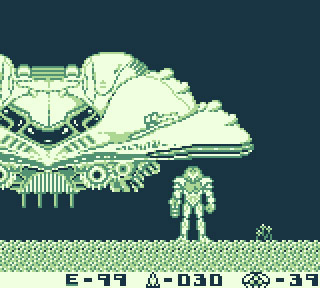 Samus Aran (Metroid II: Return of Samus for Game Boy, Nintendo)