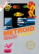 Metroid for Nintendo NES Box Art