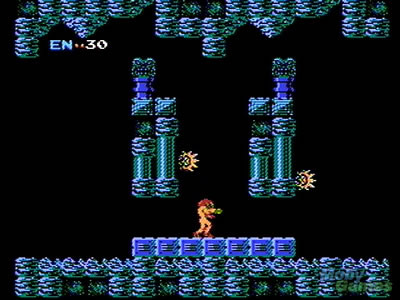 Samus Aran (Metroid for NES, Nintendo)