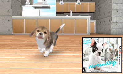 Nintendo 3DS Launch Games - Nintendogs + Cats Review