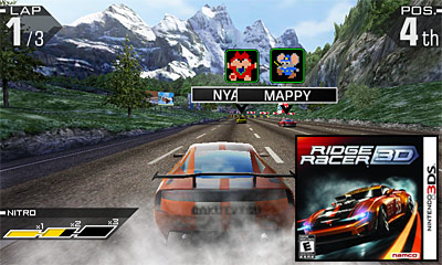 Nintendo 3DS Launch Games - Ridge Racer 3D Review