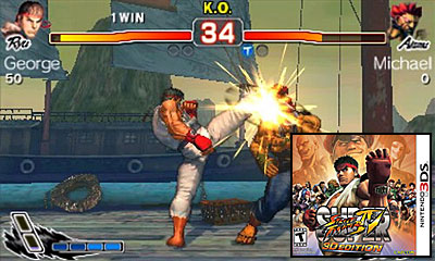 Nintendo 3DS Launch Games - Super Street Fighter IV 3D Review
