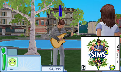 Nintendo 3DS Launch Games - The Sims 3 Review