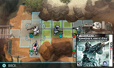 Nintendo 3DS Launch Games - Tom Clancy's Ghost Recon: Shadow Wars Review