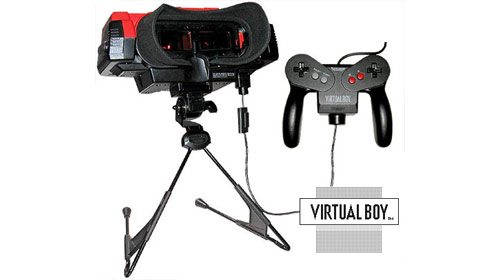 Six Games and Consoles that Were Ahead of their Time - Virtual Boy