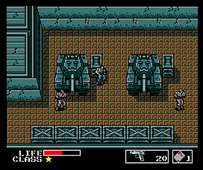 Solid Snake: The Ultimate Video Game Action Hero screenshots (Metal Gear Solid - NES)