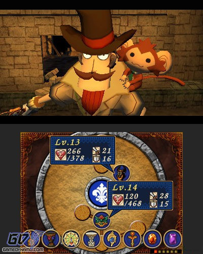 Doctor Lautrec and the Forgotten Knights (Nintendo 3DS) Preview Screenshots