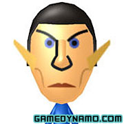 Nintendo 3DS Mii QR Codes - Spock (Star Trek)