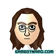 Nintendo 3DS Mii QR Codes - John Lennon (The Beatles)