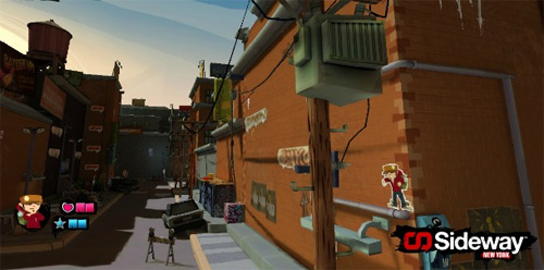 Sideway: New York for PS3 (PSN) release date and pricing