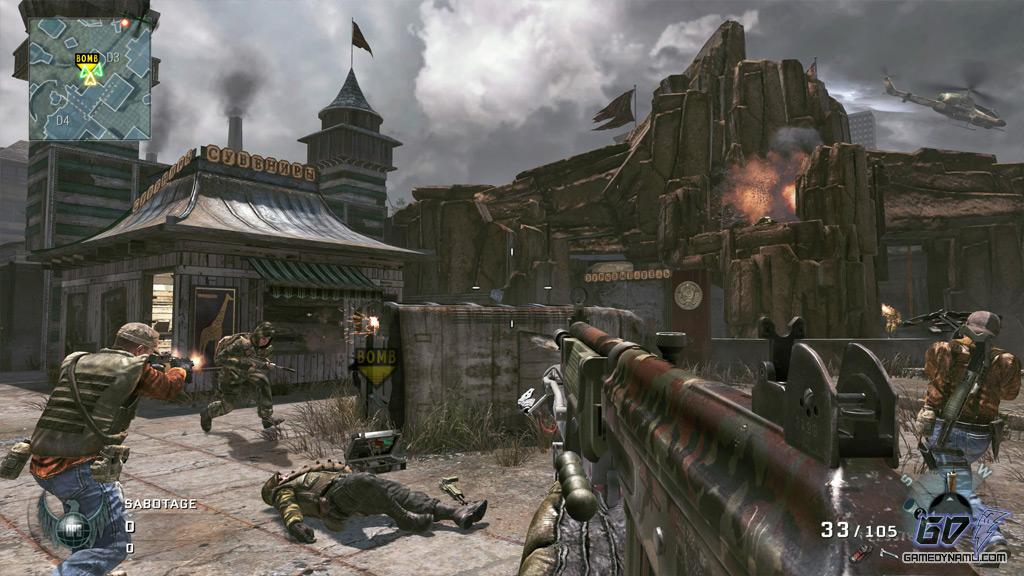 call of duty black ops escalation screenshots. call of duty black ops