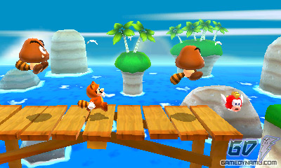 Super Mario 3D Land (Nintendo 3DS) Preview Screenshots