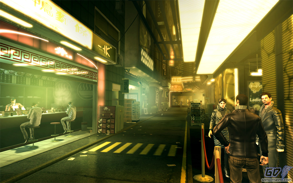 Deus Ex: Human Revolution PC screenshots and recommended / minimum specs (PC)