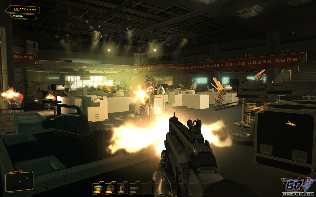 Deus Ex: Human Revolution coming to Steam -- PC screenshots