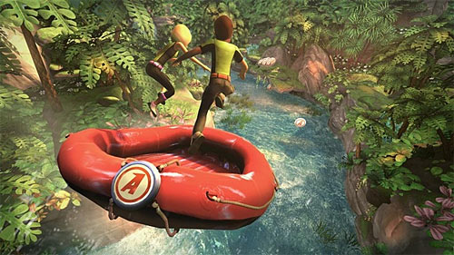 Kinect Adventures River Rush