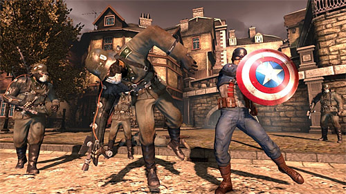 Captain America: Super Soldier (PS3, Xbox 360) Review Screenshots