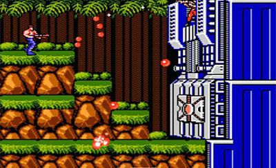 Top 10 Hardest Video Games - Contra - 1987