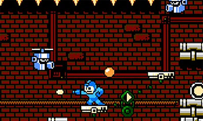 Top 10 Hardest Video Games - Mega Man - 1987