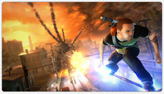 Sony E3 2011 Press Conference: inFAMOUS 2 (PS3)