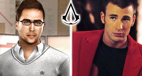 The Casting Call: Assassin's Creed - Shaun Hastings: Chris Evans