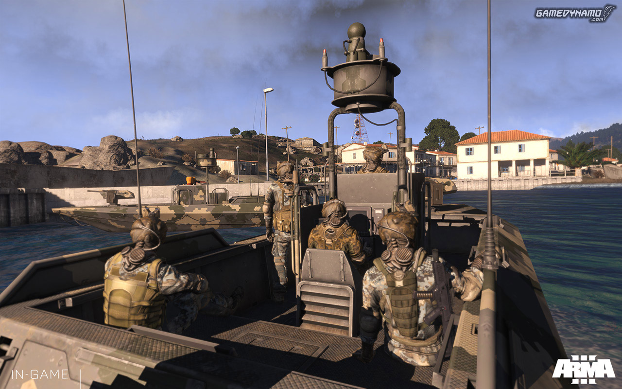 how to change channel arma 3