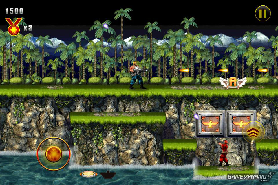 Contra: Evolution Screenshots (iOS)
