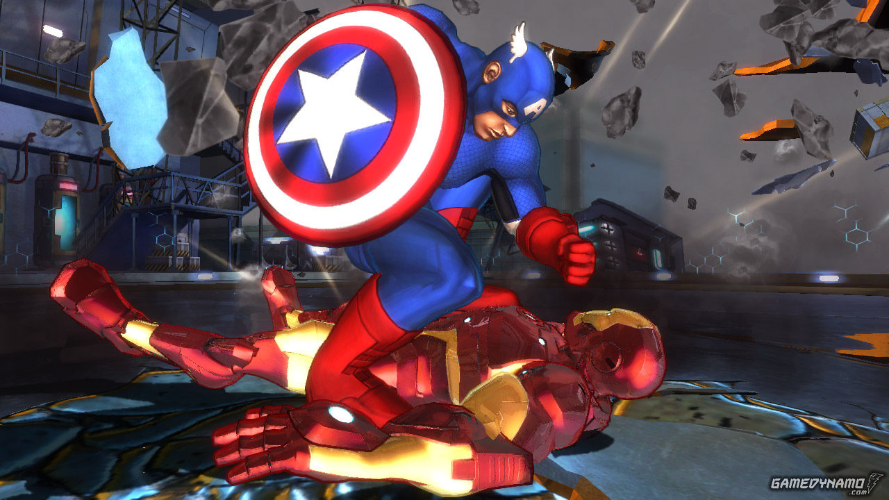 Marvel Avengers: Battle For Earth (Xbox 360) Review Screenshots
